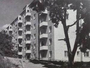 Fasaden från Scheffersgatan